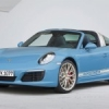 Porsche 911 Targa 4S Exclusive Design Edition.