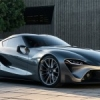 Toyota FT-1 Sports Car Concept.