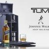 Tumi x Johnnie Walker : Coffret de dégustation.