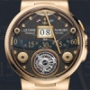 Ulysse Nardin Marine Grand Deck Tourbillon en or rose.