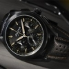 Alpiner 4 Chronographe Manufacture Flyback Noir.