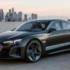 La nouvelle Audi e-tron GT Concept présentée à Los Angeles.