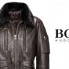 La veste en cuir Hugo Boss Mille Miglia.
