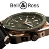 BR 03-92 Diver Green Bronze : une combinaison exclusive Bell & Ross.