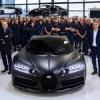 Voici Noire: la 250ème Bugatti Chiron sortie des ateliers de Molsheim