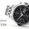 Baume & Mercier : Chronographes Clifton Black.