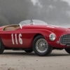 Ferrari 166 MM Barchetta by Touring de 1950.