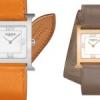 Hermès Heure H s'habille d'un bracelet double tour