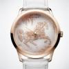 La montre Slim d'Hermès Cheval Ikat