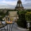 Le Bar à ciel ouvert by Krug au Shangri-La Hotel Paris.