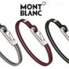 Nouveaux bracelets pour homme de Montblanc.