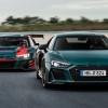 Audi R8 green hellen édition limitée : hommage à l'Audi R8 LMS