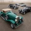 Quatre voitures de la Collection de Keith Crain à Amelia Island