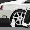Rolls-Royce : Élégante collection de bagages pour la Wraith.