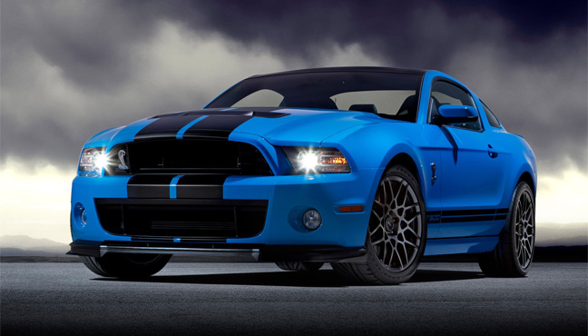Mustang GT 500 Shelby 2013