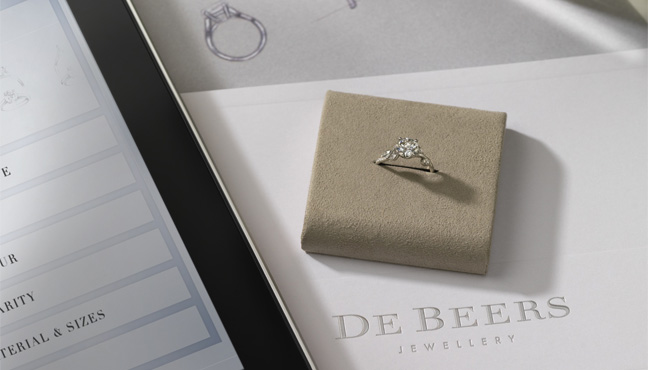 De Beers for you, forever