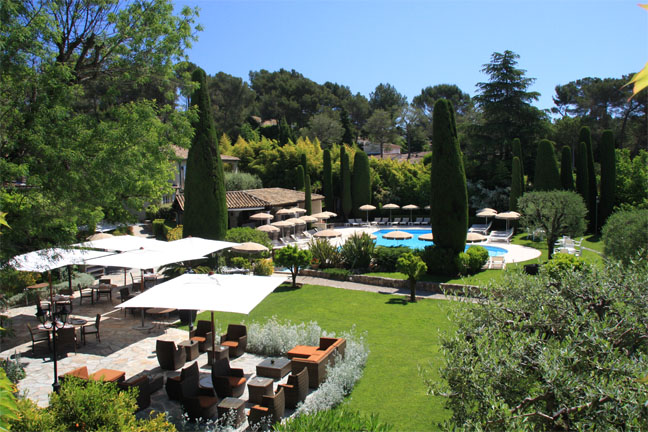 The 7 exclusive journal h tel de mougins tranquillit for Le jardin de france