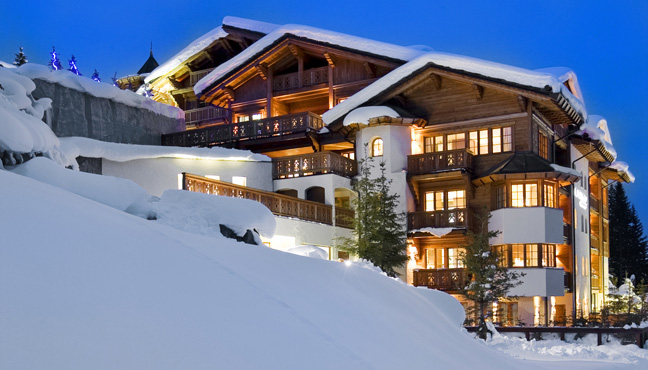The 7 exclusive journal le strato courchevel un m lange for Architecte courchevel