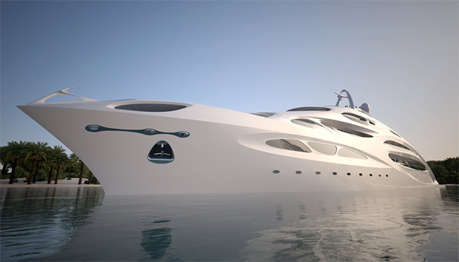 Unique Circle Yacht