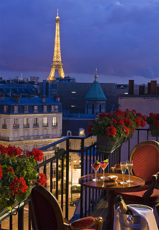 San Regis Hotel In Paris