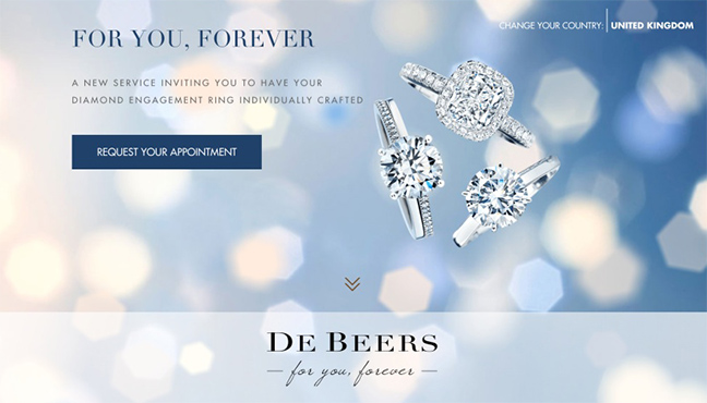De Beers For You Forever