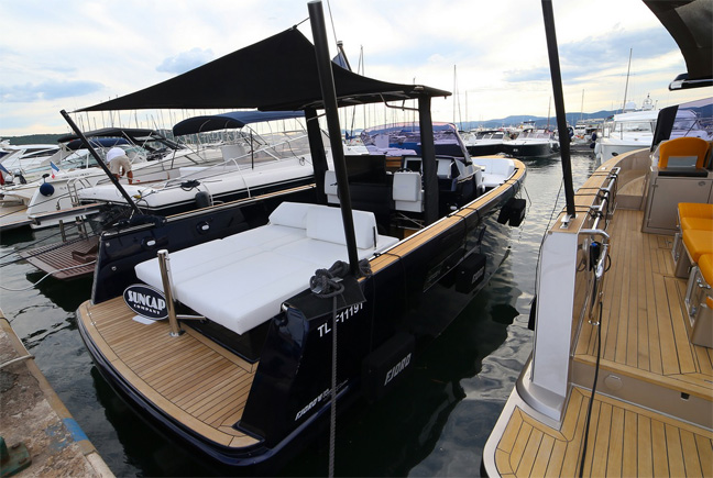 Fjord 36 Open Blue Edition