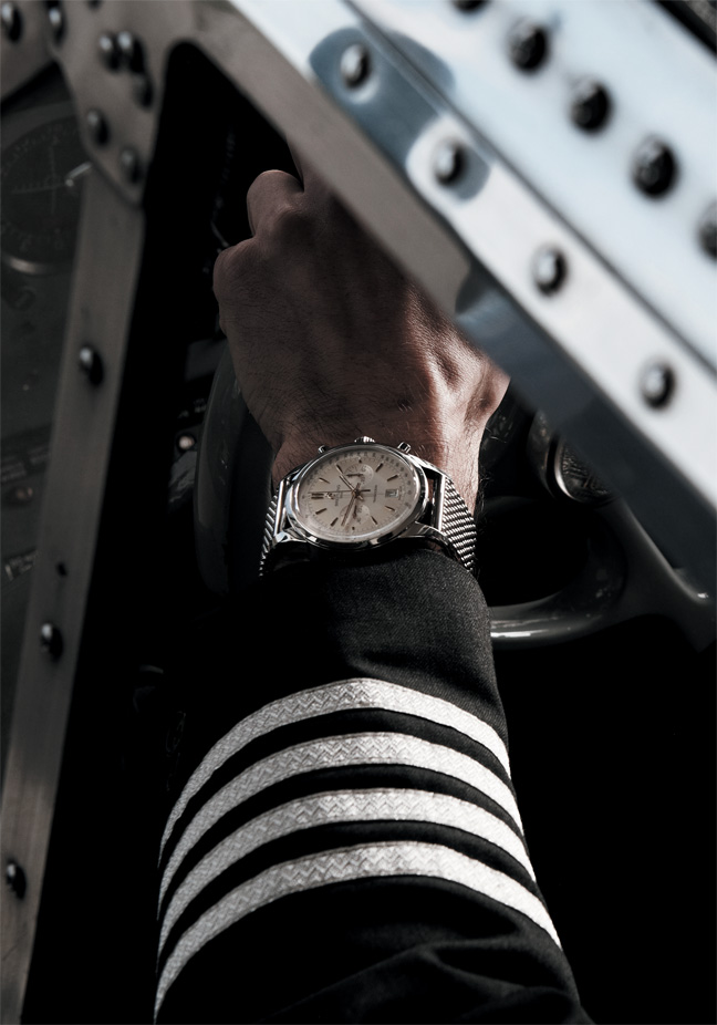 The 7 exclusive journal Breitling Transocean Chronograph ...