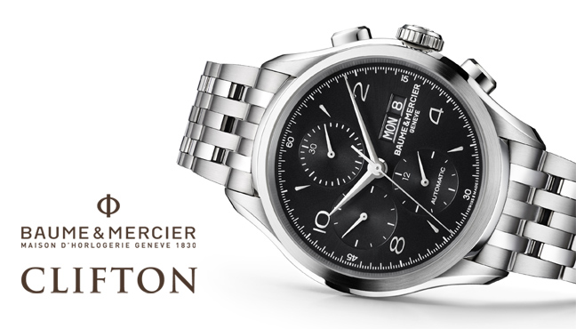 Baume & Mercier Clifton Black