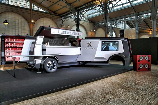 Peugeot Foodtruck