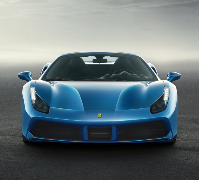 Ferrari 488 Spider: The 7 Exclusive Journal Ferrari 488 Spider : Sa Beauté N'a