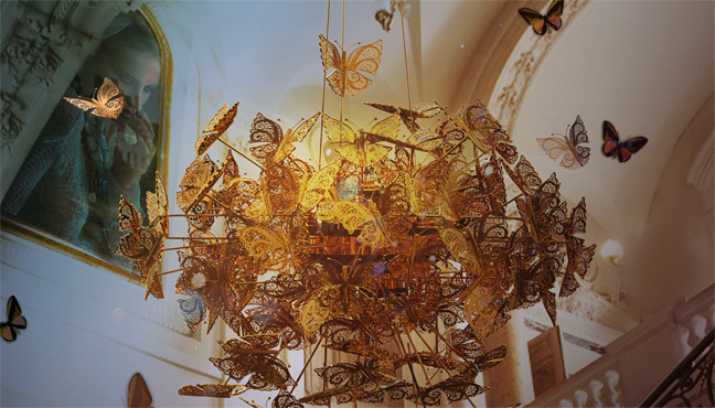 Koket Nymph Chandelier
