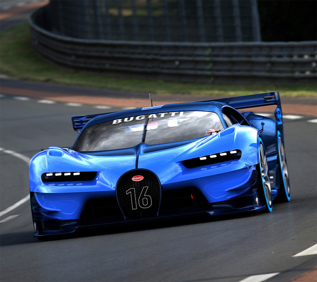 Bugatti Vision Gt: The 7 Exclusive Journal Bugatti Vision Gran Turismo