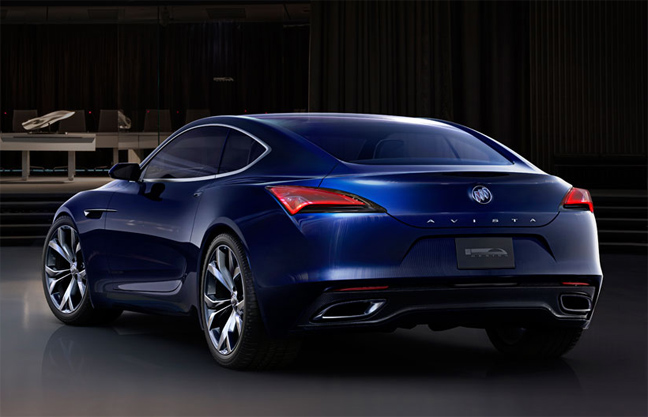 the 7 exclusive journal buick avista en esp rant qu 39 elle d passe le stade du concept. Black Bedroom Furniture Sets. Home Design Ideas