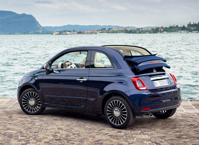 the 7 exclusive journal fiat 500 riva ravissante. Black Bedroom Furniture Sets. Home Design Ideas