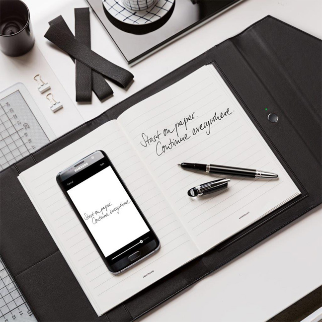 Augmented Paper Montblanc
