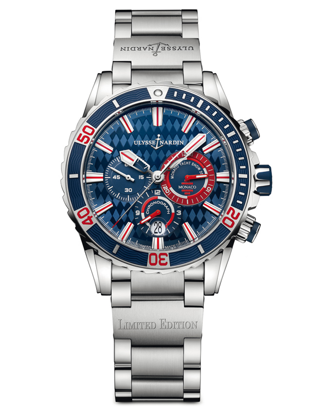 The 7 exclusive journal Ulysse Nardin Diver Cronograph ...