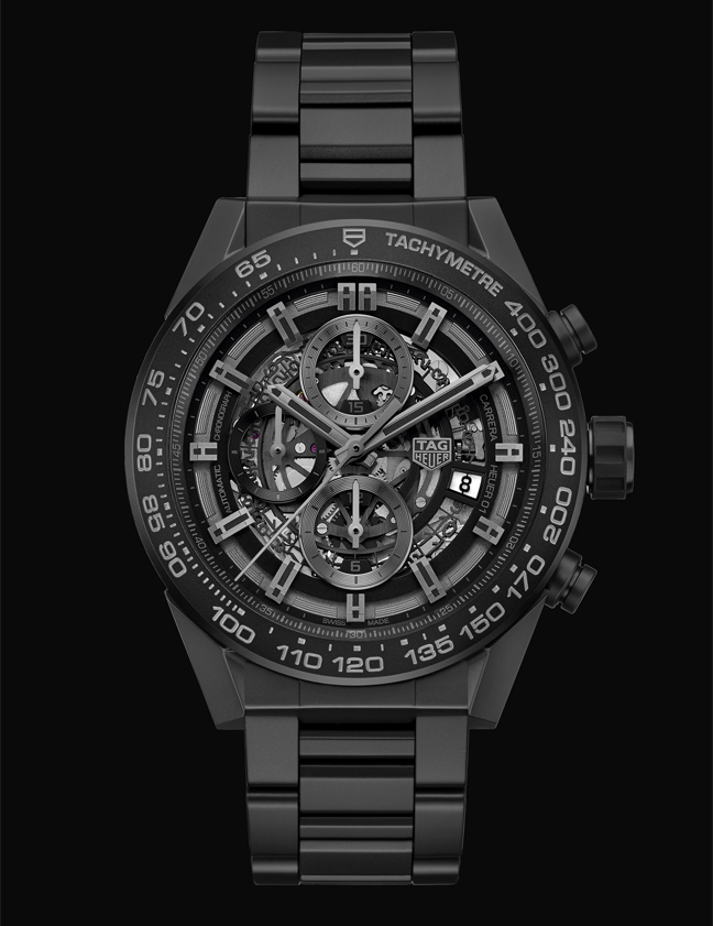 Carrera Heuer-01 Full Black