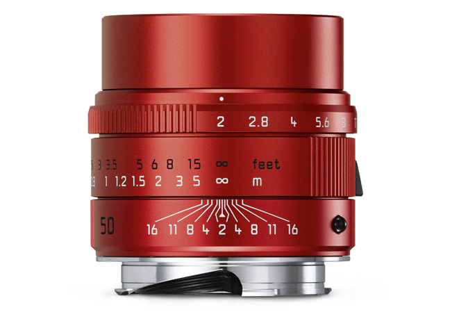 Leica APO-Summicron-M 1:2/50 mm ASPH rouge
