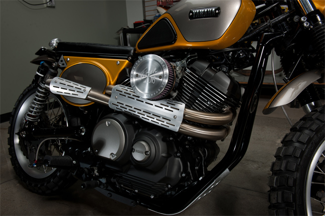Yamaha SCR950 Yard Built