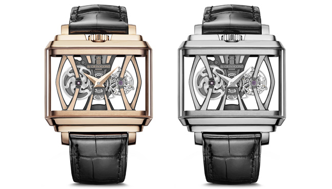 de Grisogono New Retro Skeleton Tourbillon
