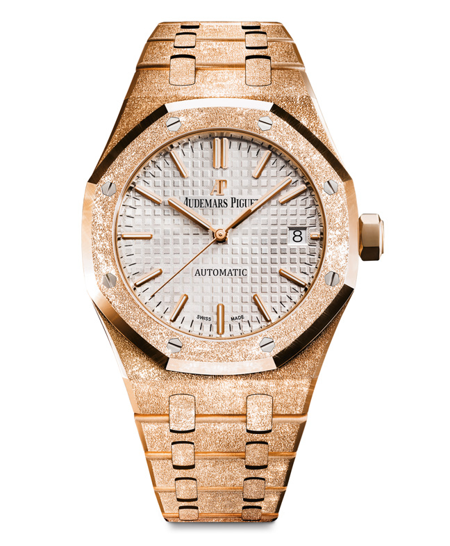 Audemars Piguet Royal Oak Frosted Gold