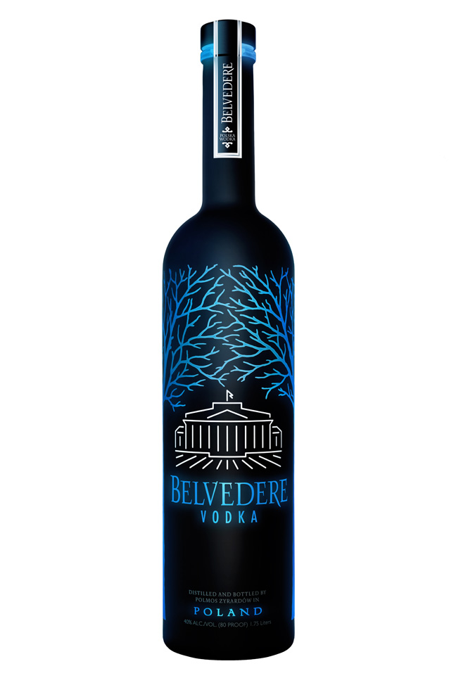 Belvedere Vodka Midnight Saber