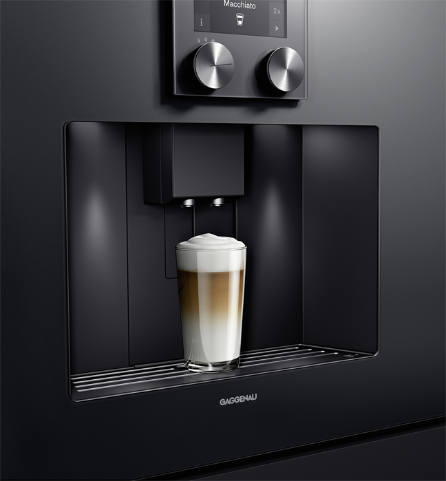 Machine expresso Gaggenau séries 400 et 200