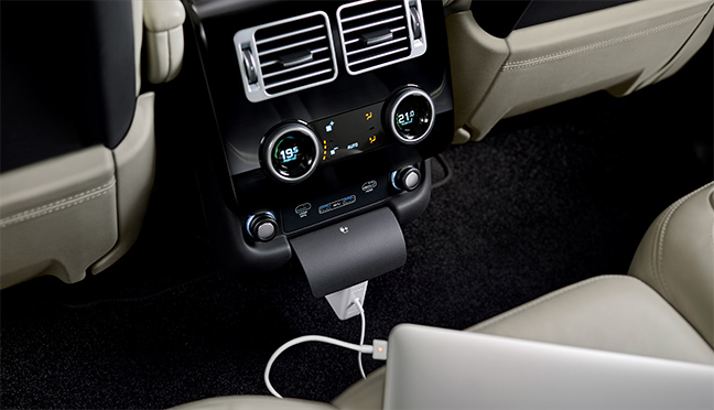 Range Rover hybride rechargeable