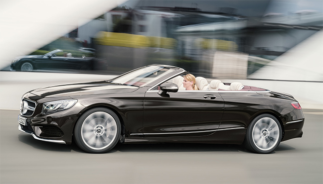 Mercedes Classe S Cabriolet
