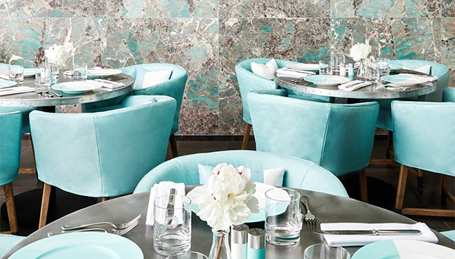 Tiffany Blue Box Cafe