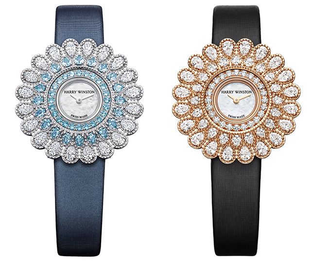 Harry Winston Marquise Time