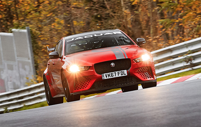 Jaguar XE SV Project 8 - Nürburgring