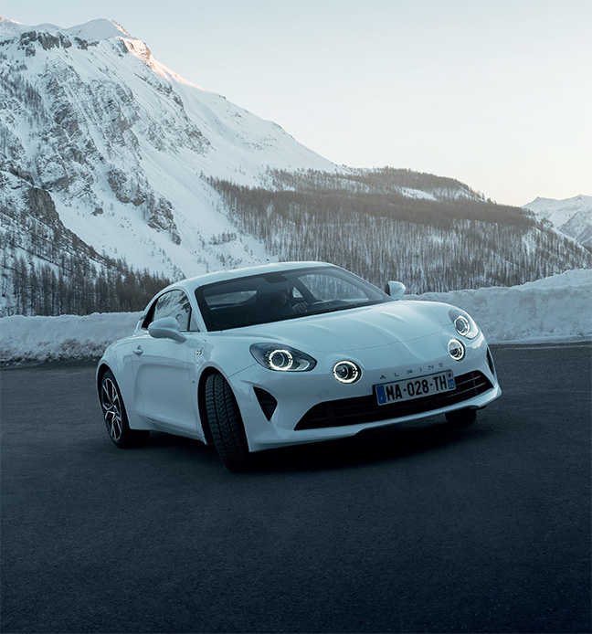 Alpine A110 Pure - Légende