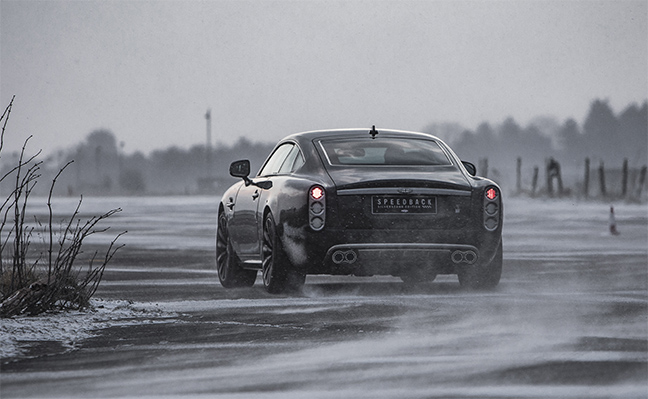 David Brown Speedback Silverstone